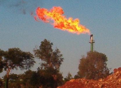 prospeção de gás em Temane