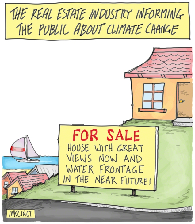 2016-301P informing the public about climate change risk - real estate industry%2c rising sea levels 30th May