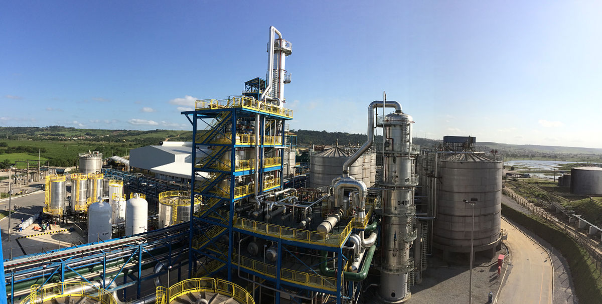 etanol fabrica